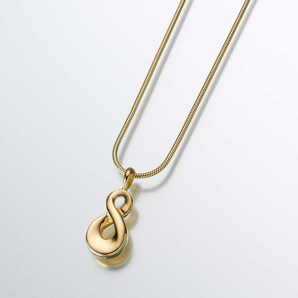 Infinity-23K Gold Plated Pendant