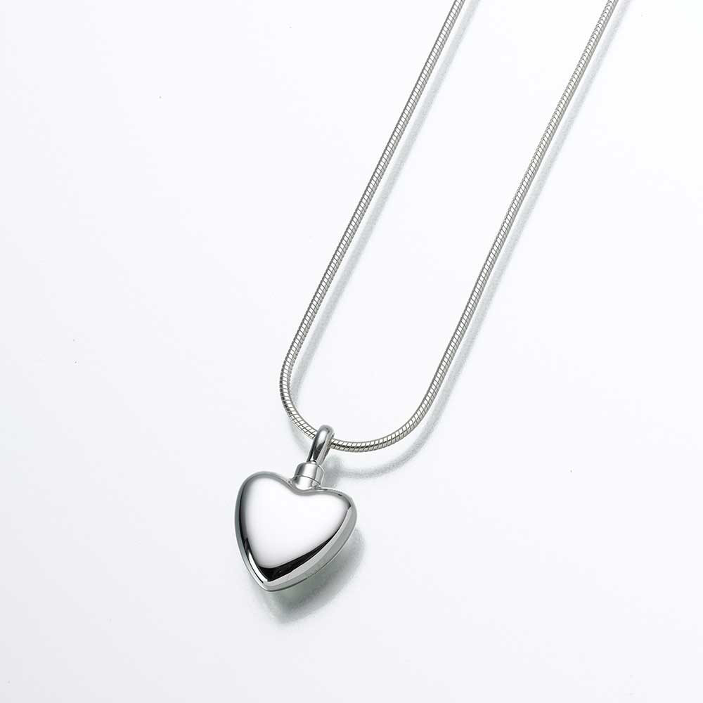 Small heart sterling silver pendant cremation services of small heart sterling silver pendant mozeypictures Images